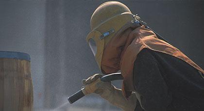 Sandstrahlen - Strahlarbeiten vom Fachbetrieb