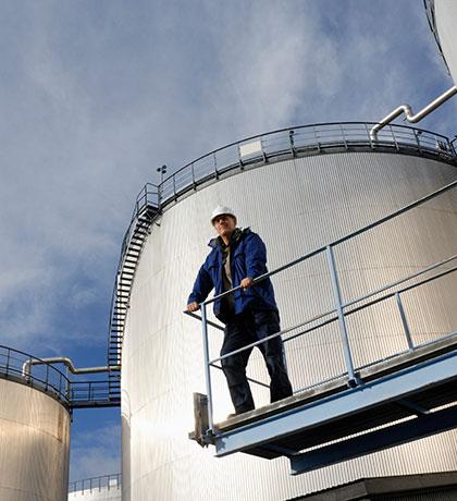 Tankanlagenbau für Industrie und Gewerbe